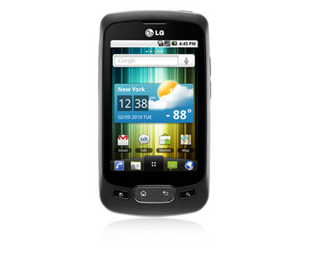LG Optimus One firmware